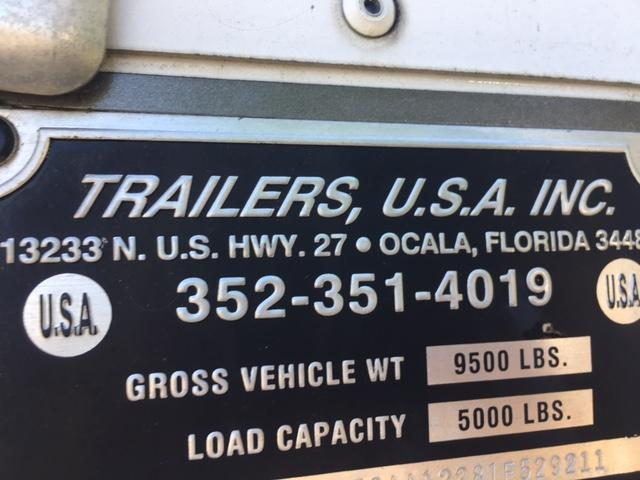2001 Trailer Usa 2 Horse Gooseneck With Dress