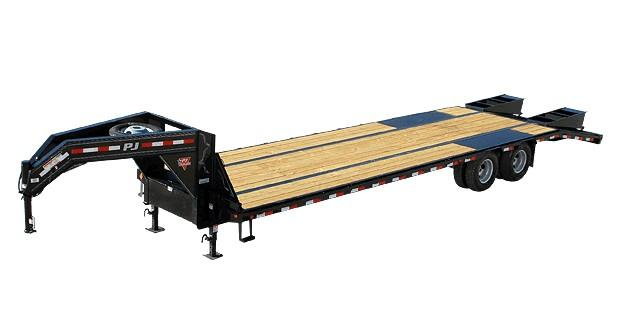 2020 Pj 32' Low-pro Flatdeck With Duals