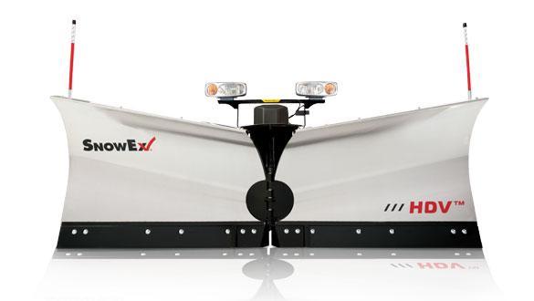 "2017 Snow Ex V-plow 8'6"" Hdv Ss"