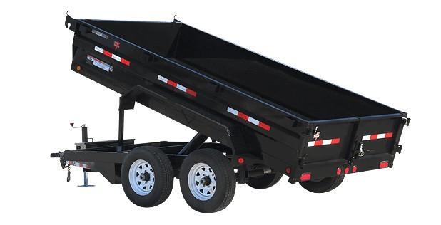 "2019 Pj 12'x72"" Tandem Axle Dump"