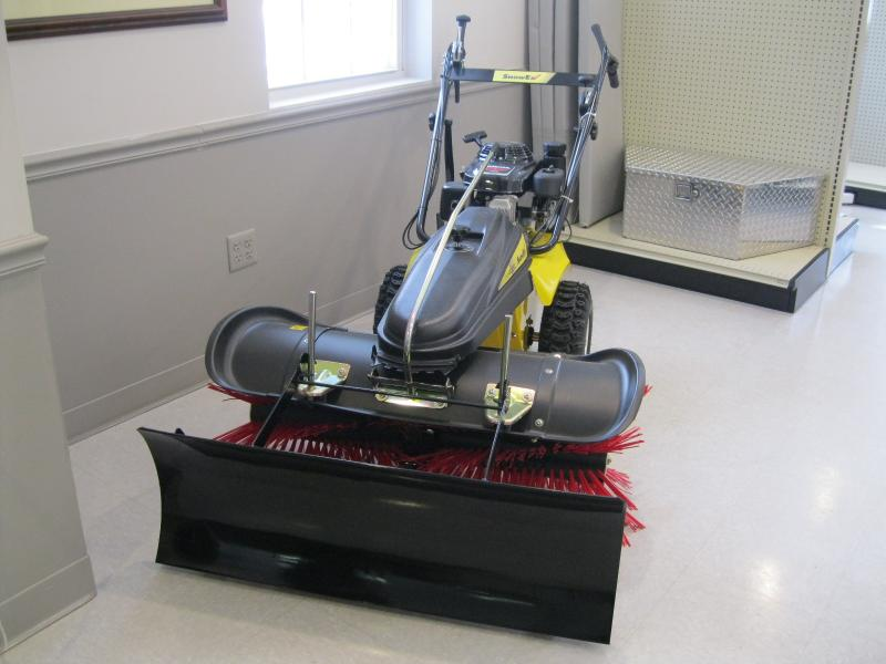 2015 Snow Ex Walk Behind Rotary Broom