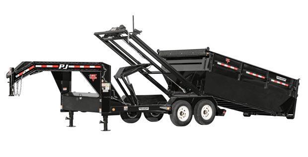 2020 Pj Bp 14' Rollster Roll Off Dump