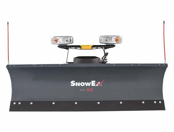 "2017 Snow Ex 7600rd / 7'6"" Steel Blade"