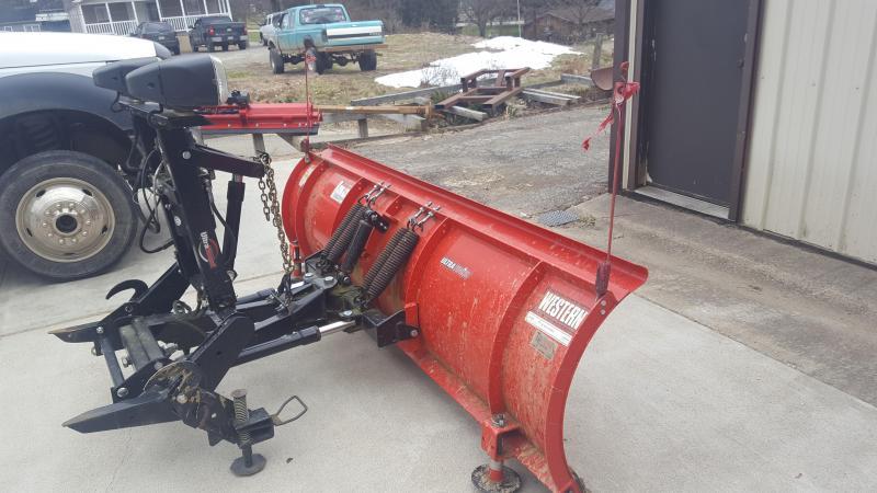 2012 Western USED WESTERN 8.5 PRO Snow Plow