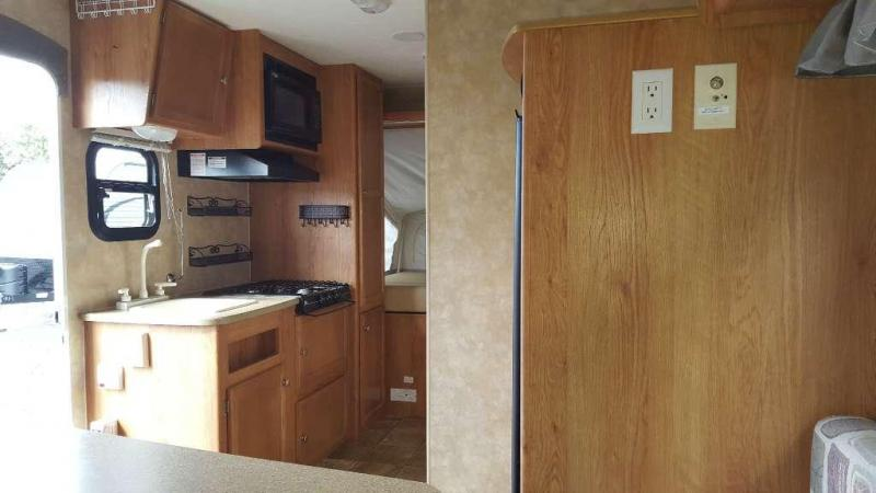 Used 2008 Jay Feather EXP 17 EX-PORT Travel Trailer