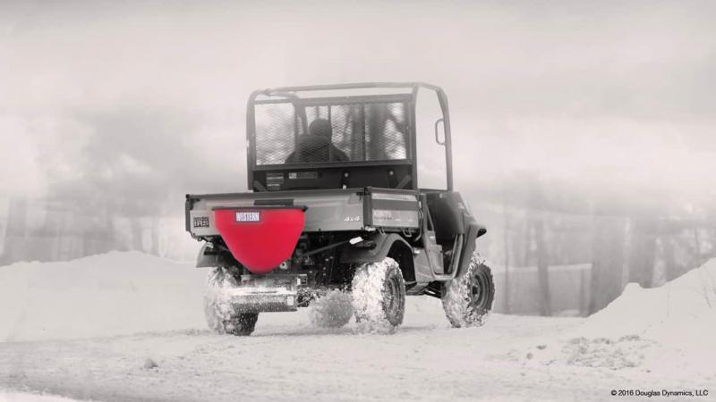 Western Model 300W Salt Spreader