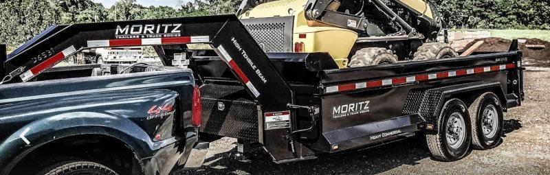 Moritz MI DLBH61012-14 Dump Trailer Gooseneck