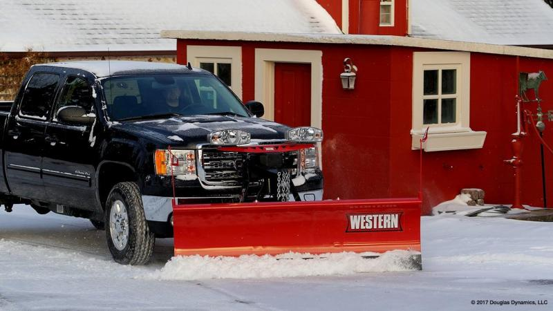 Western Midweight Steel & Poly Snow Plow