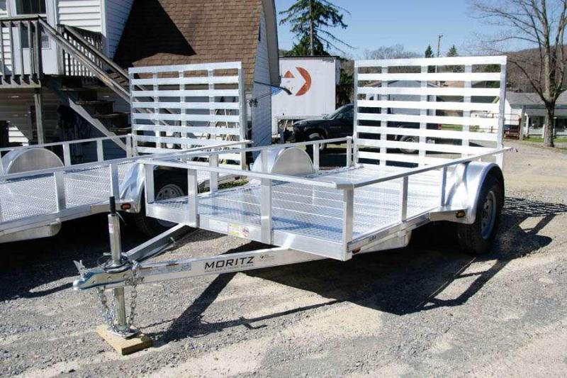 Moritz MI LRA610 Aluminum Utility Trailer