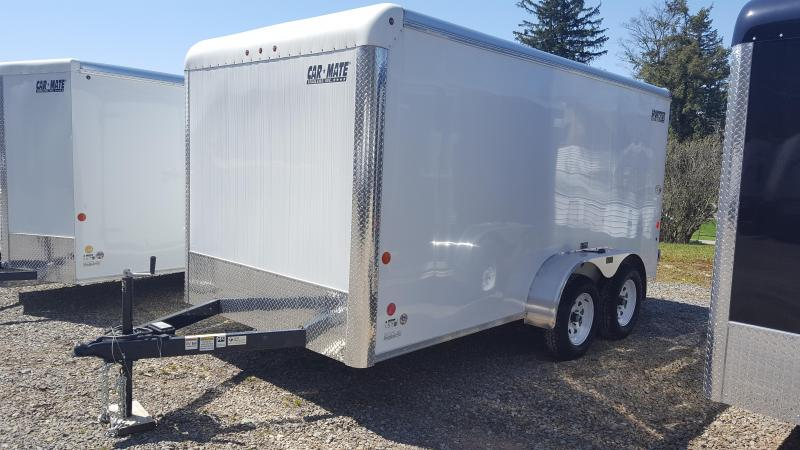 Car Mate Trailers 7 x 14 HD Sportster Enclosed Cargo Trailer