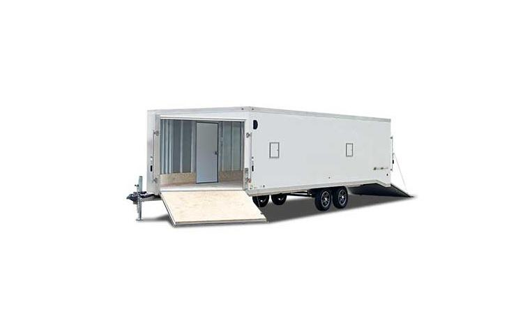 2018 Wells Cargo WASA85X2424 Snowmobile Trailer