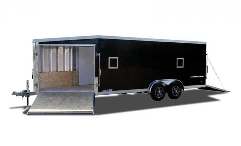 2017 Wells Cargo WAS75X2222 Snowmobile Trailer