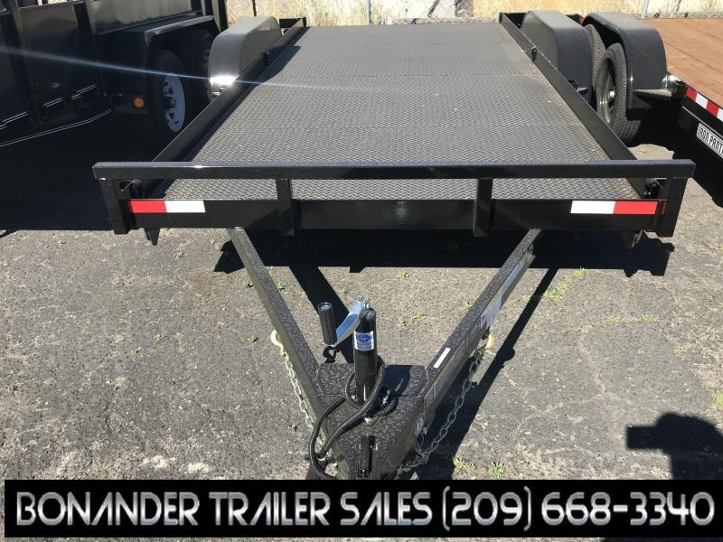 2019 Iron Panther 7X16 ECONO CAR HAULER Trailer