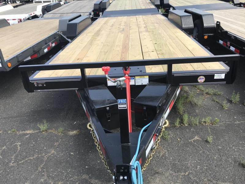 2019 PJ Trailers 20X 83 Hydraulic Quick Tilt (TH) Equipment Trailer