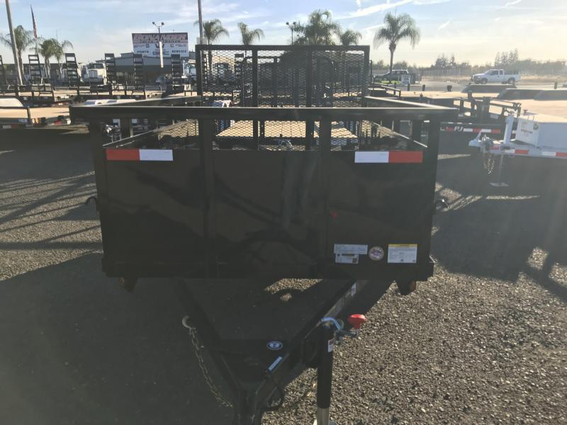 2019 Iron Panther 5X8 Landscape Trailer