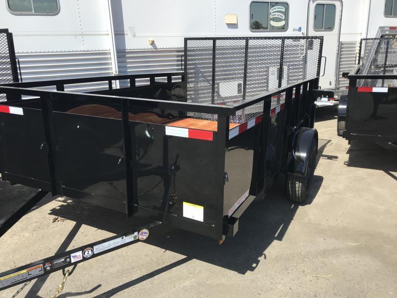 2020 Iron Panther LT143 Equipment Trailer