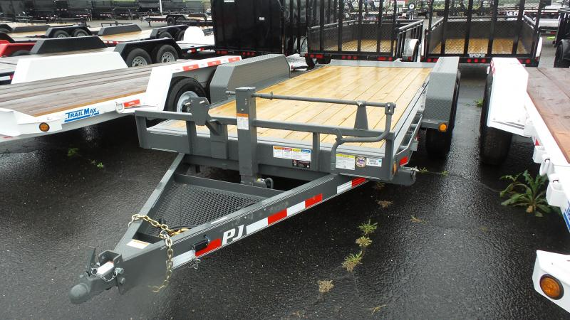 2019 PJ Trailers16X6 Channel Equipment Tilt