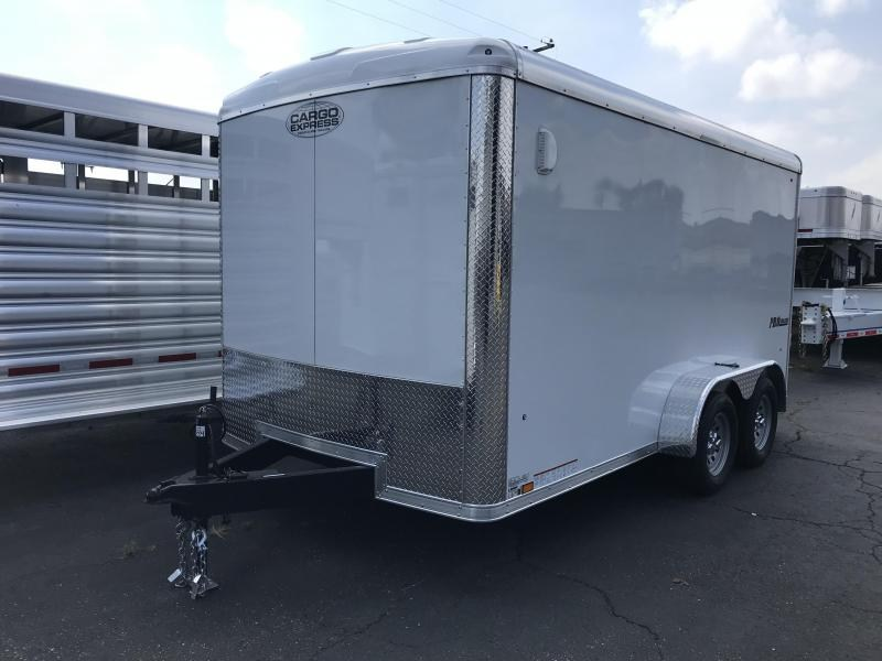 2019 Cargo Express Pro 7 Wide Tandem Cargo Cargo / Enclosed Trailer