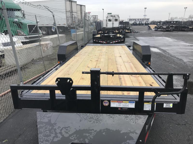 2019 PJ Trailers Powered Full Tilt (TF) Car / Racing Trailer