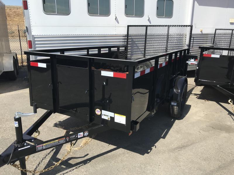 2020 Iron Panther LT112 Equipment Trailer