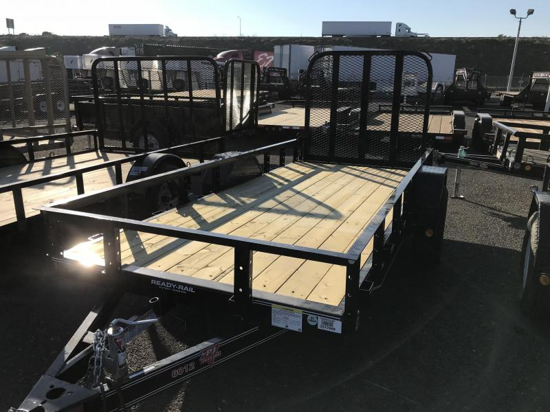 2018 PJ Trailers 60 in. Single Axle Channel Utility (U6) Trailer