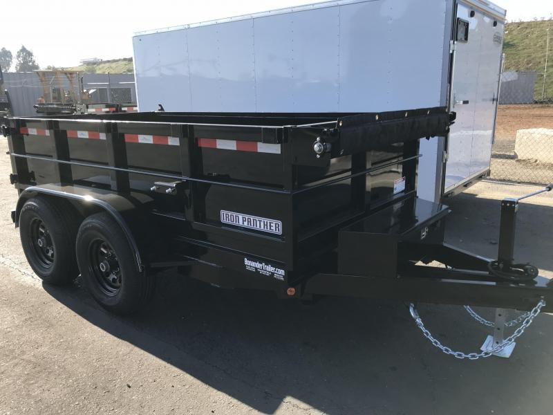 2018 Iron Panther 6X12X2 Dump Trailer