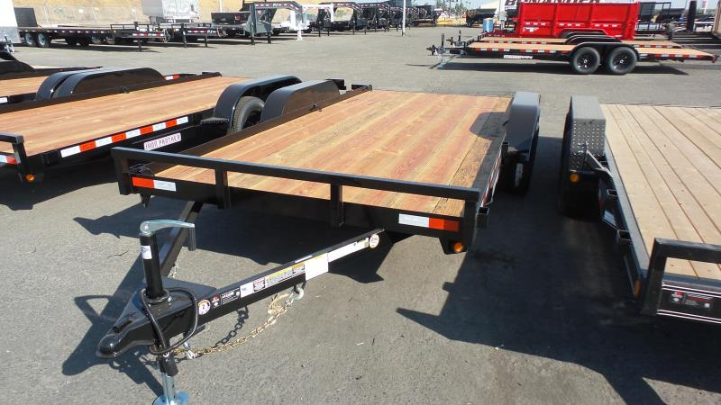 2019 Iron Panther 7X16 Utility Trailer