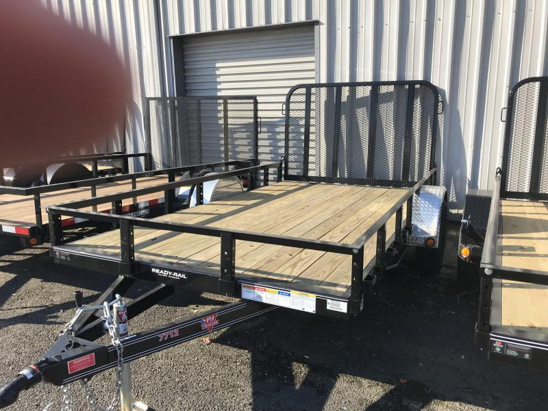 2019 PJ Trailers 12X77 Single Axle Channel Utility