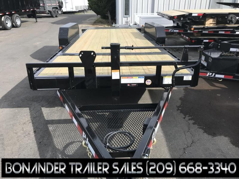 2019 PJ Trailers 20'X6 Channel Equipment Tilt (T6) Equipment Trailer