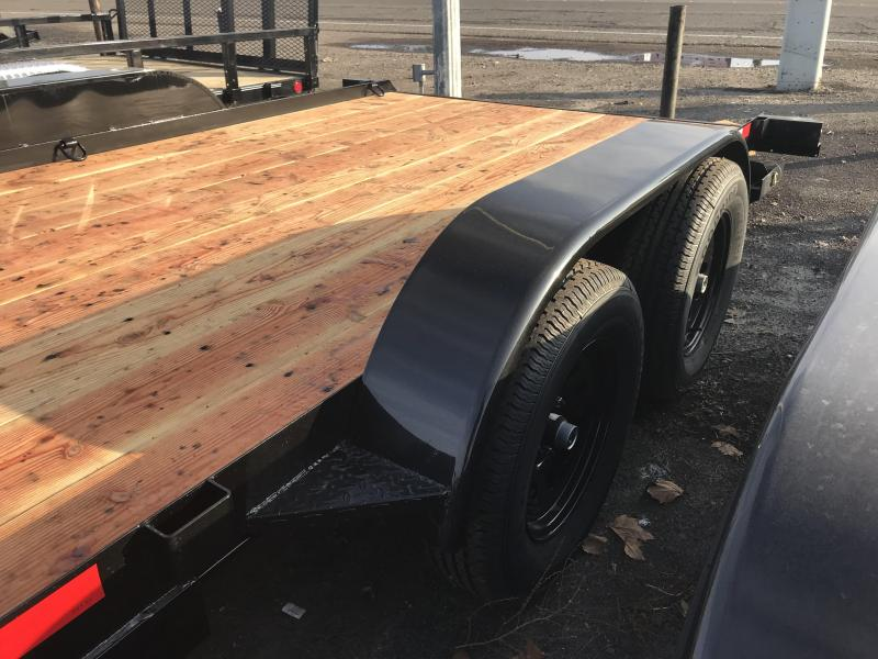 2019 Iron Panther 7X18 Econo Car Hauler Trailer