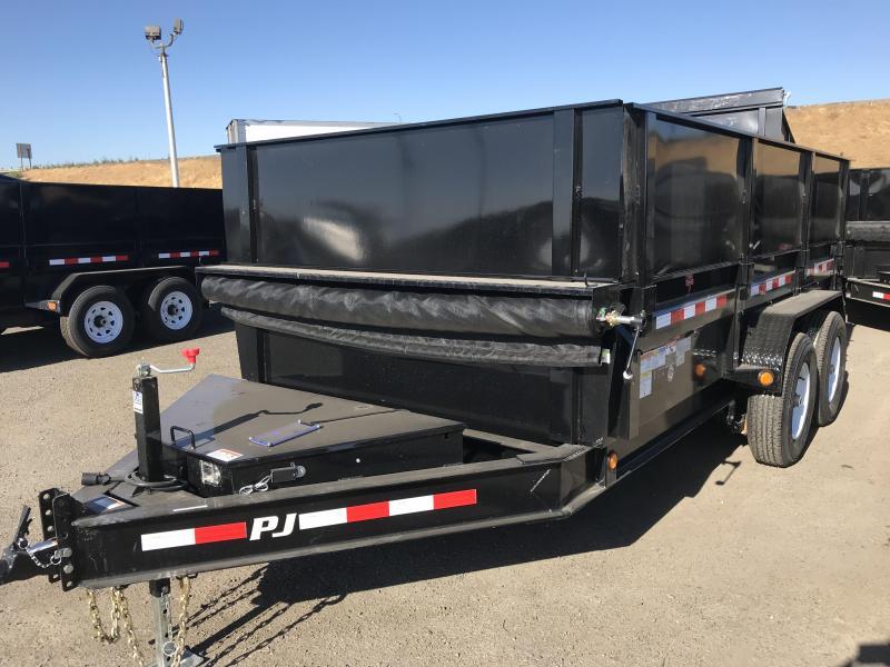 2019 PJ Trailers 14X83 Low Pro Dump