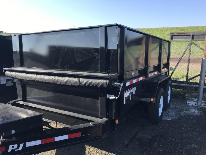 2019 PJ Trailers 12X83 Low Pro Dump (DL) Dump Trailer