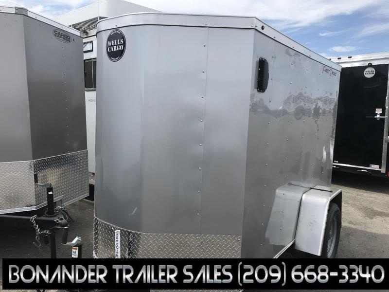 2020 Wells Cargo FT58S2-D Enclosed Cargo Trailer