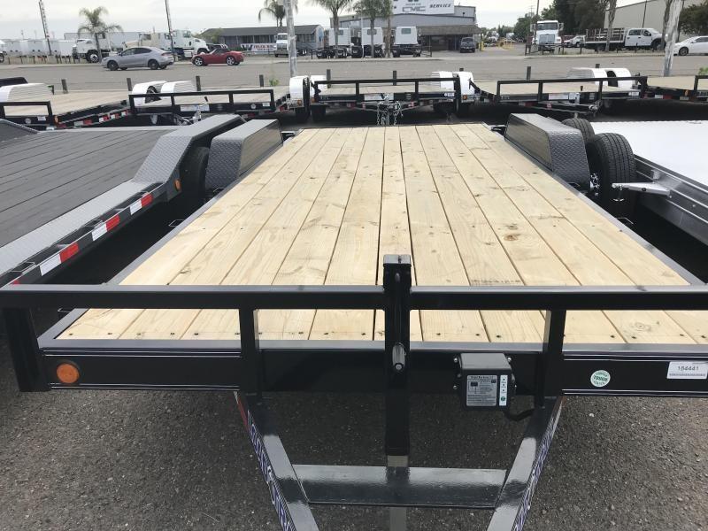 2019 Load Trail CH07 Carhauler 83 x 18 Car / Racing Trailer