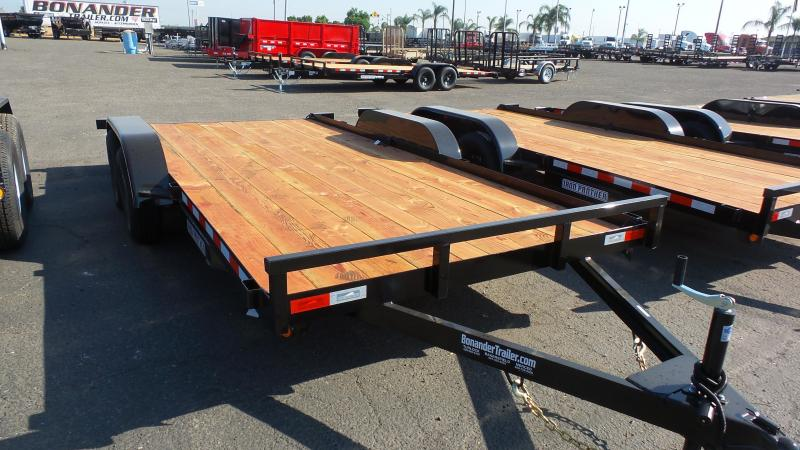 2018 Iron Panther 7x18 Car Hauler Trailer