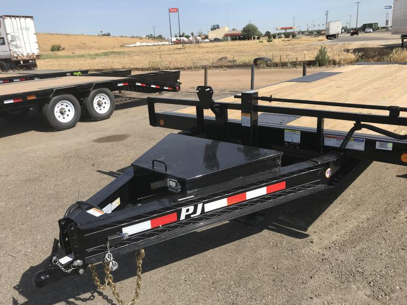 2019 PJ Trailers 22' DeckoverTilt