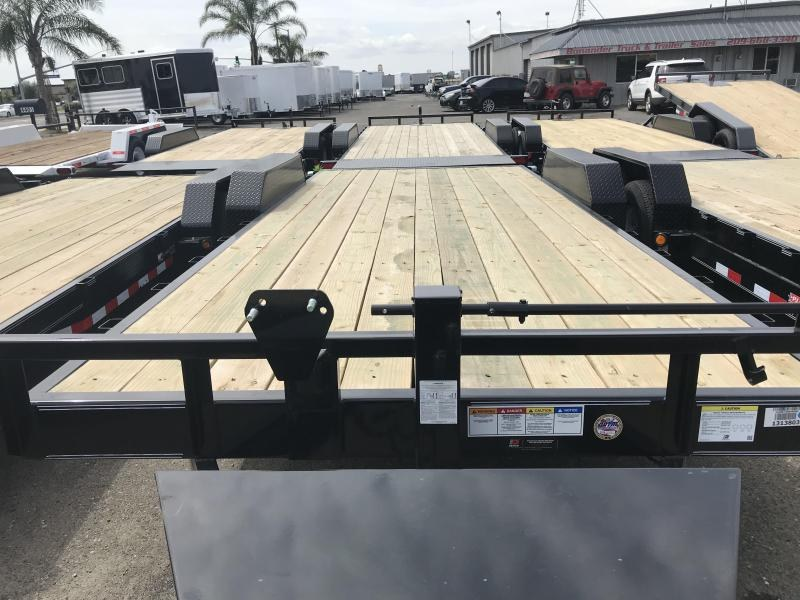 2019 PJ Trailers 20X6 Channel Equipment (CC) Car / Racing Trailer