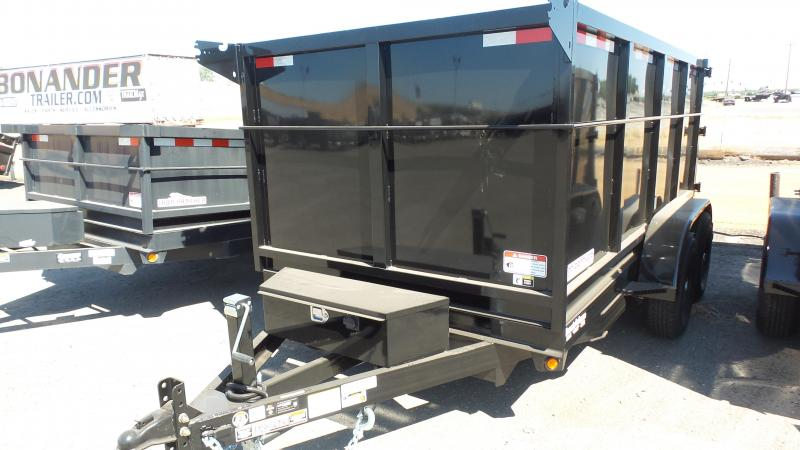 2019 Iron Panther 6X10X4 Dump Trailer