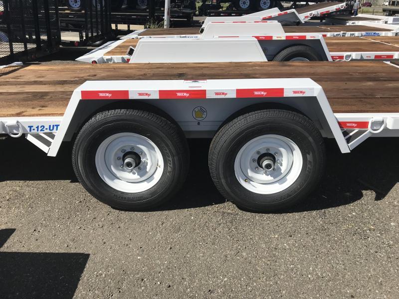 2019 TrailMax T-12-UT Flatbed Trailer