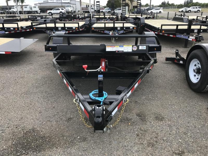 2020 PJ Trailers 13' Single Axle HD Tilt Trailer