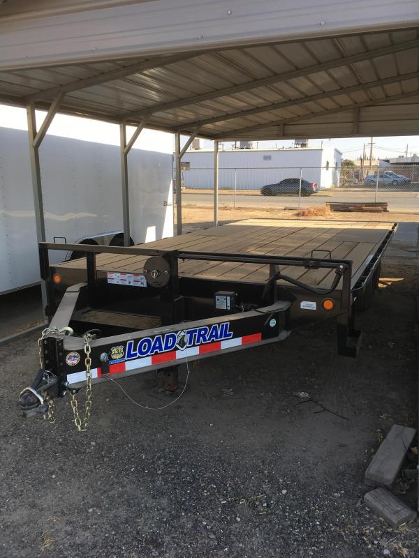 2018 Load Trail 102X18 Tandem Stanard Pintle Hook
