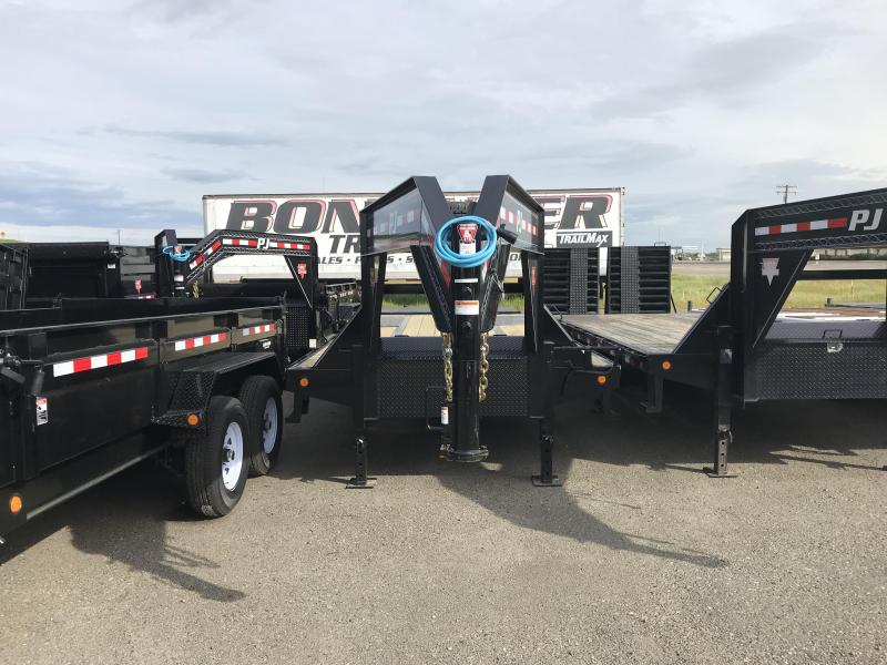 2019 PJ Trailers 25' Low-Pro Flatdeck with Duals (LD) Flatbed Trailer