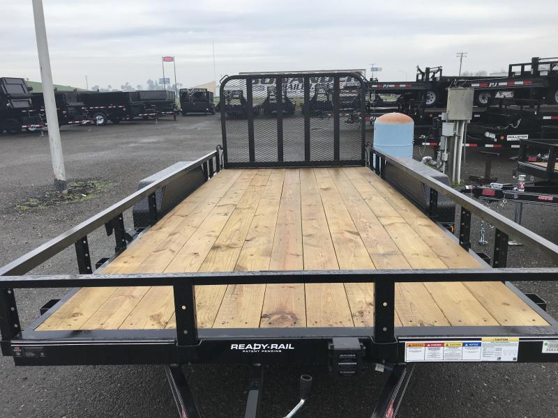 2019 PJ Trailers 16X83 Tandem Axle Channel Utility (UL) Utility Trailer