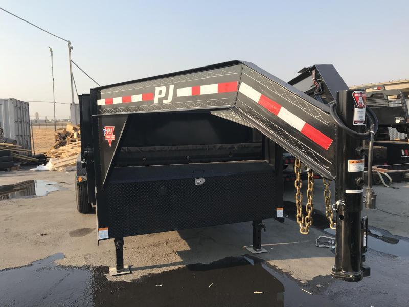 2019 PJ Trailers 16X83 Low-Pro Dump