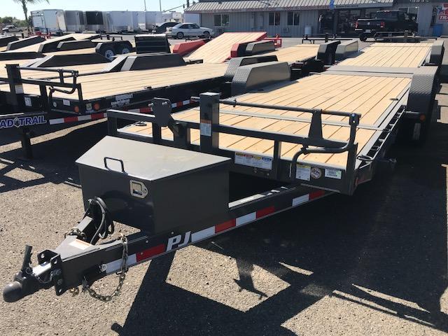 2019 PJ Trailers 20X6 Channel Equipment Tilt