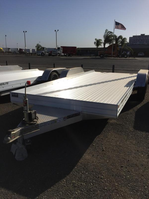 2016 Featherlite A4 Flatbed Trailer 14x7