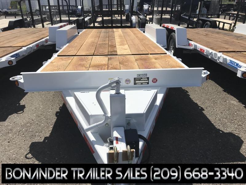 2019 TrailMax T-12-UT 4+16 Flatbed Trailer