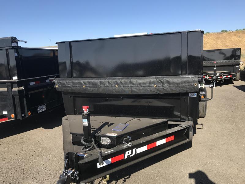 2019 PJ Trailers 16X83 Low-Pro XL Dump