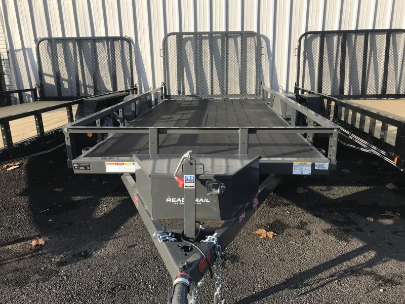 2019 PJ Trailers 77 in. Channel Utility Trailer
