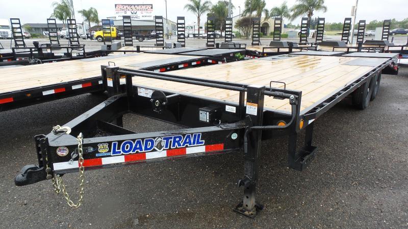 2018 Load Trail 102X24 Tandem Standard Pintle Hook
